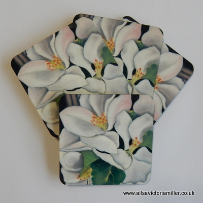 'Orchard Blossom' Coasters (Box of 4)
