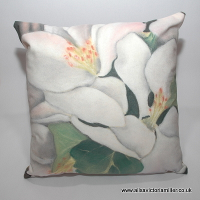 'Orchard Blossom' Cushion
