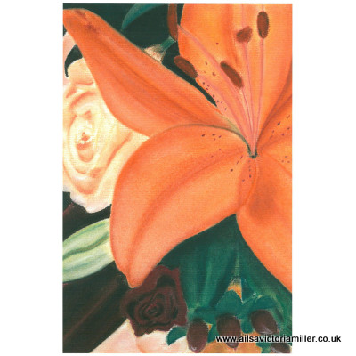 'Amber Glow' limited print (small)