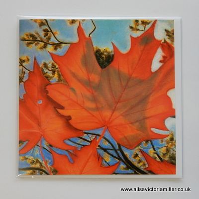 'Autumn Sky' Cards (Set of 5)