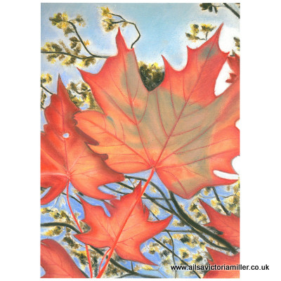 'Autumn Sky' print (large)
