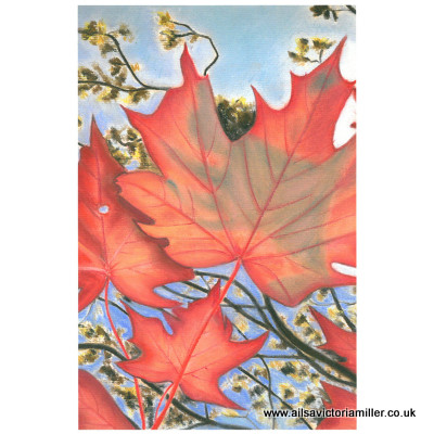 'Autumn Sky' print (small)