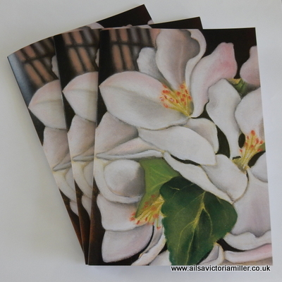 'Orchard Blossom' Notebooks (Pack of 3)