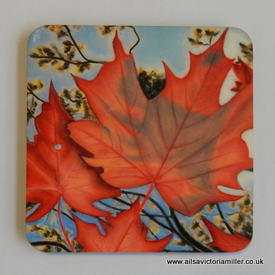 'Autumn Sky' Coasters (Box of 4)