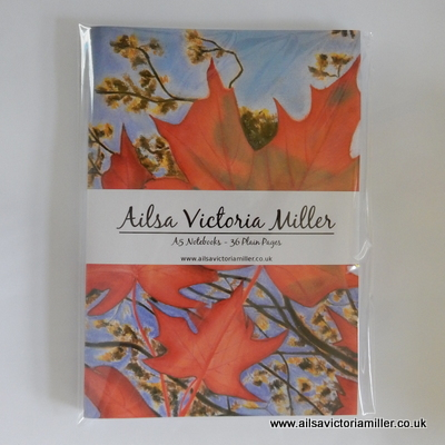 'Autumn Sky' Notebooks (Pack of 3)