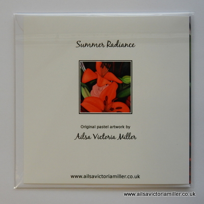 'Summer Radiance' Cards (Set of 5)