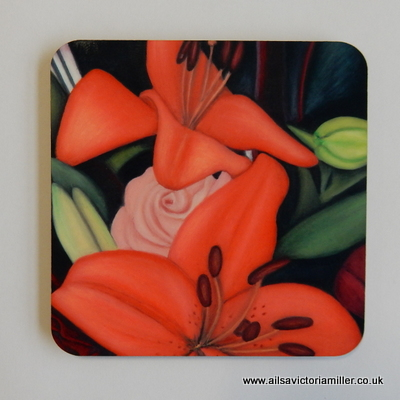 'Summer Radiance' Coasters (Box of 4)