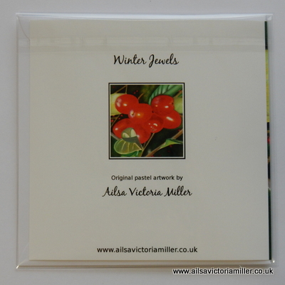 'Winter Jewels' Cards (Set of 5)