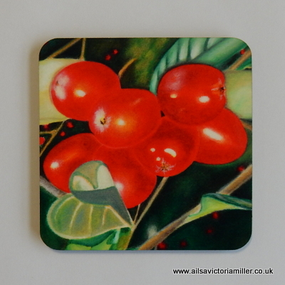'Winter Jewels' Coasters (Box of 4)