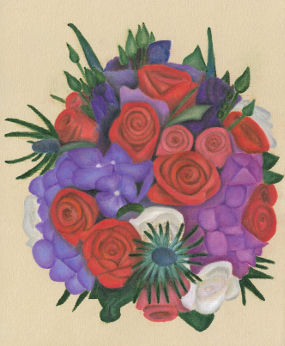 'Jen's Wedding Bouquet'